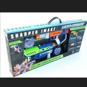 SHARPER IMAGE Lazer Conquest Deluxe Laser Blaster